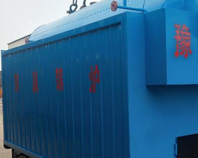 贵州茅台镇6吨生物质链条锅炉使用现场