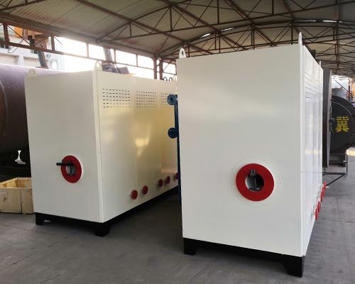 焦作市康洁洗衣厂1吨燃气蒸汽发生器