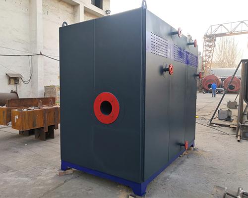 新乡艾施洗衣厂1吨燃气蒸汽发生器